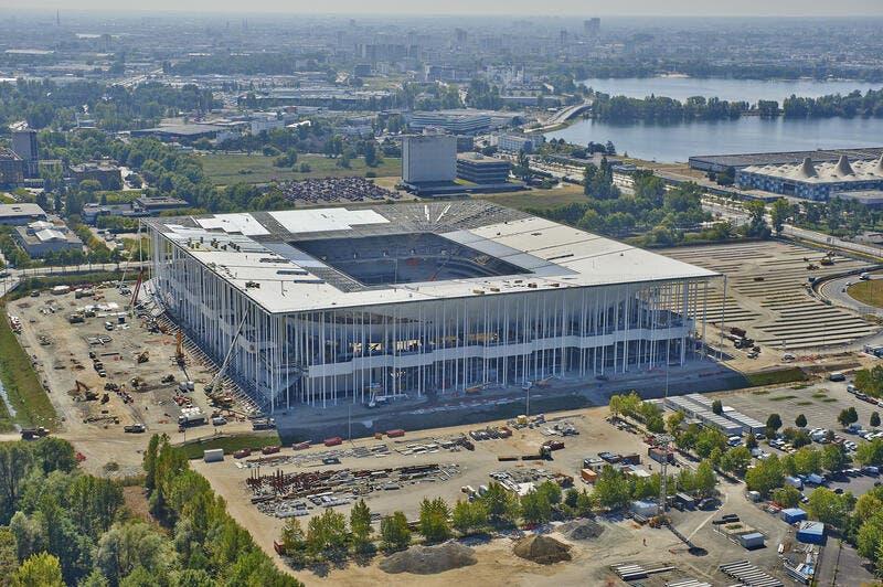 Photo Nouveau Stade Bordeaux Prend Forme Vu