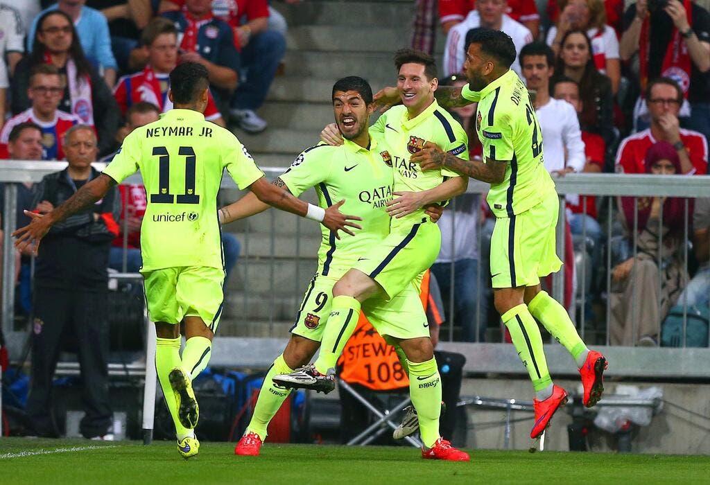Football ligue des champions la finale pour barcelone l - Finale coupe de la ligue des champions ...