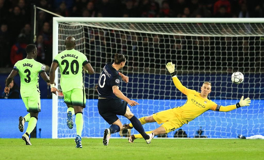 Football coupe d 39 europe psg ibra on est fort on est confiant foot 01 - Match coupe d europe foot ...