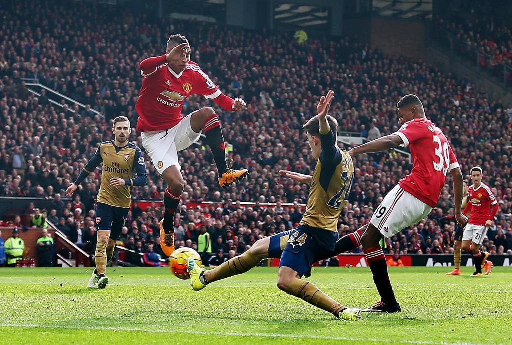 video de foot - vid u00e9o   le r u00e9sum u00e9 de man utd-arsenal