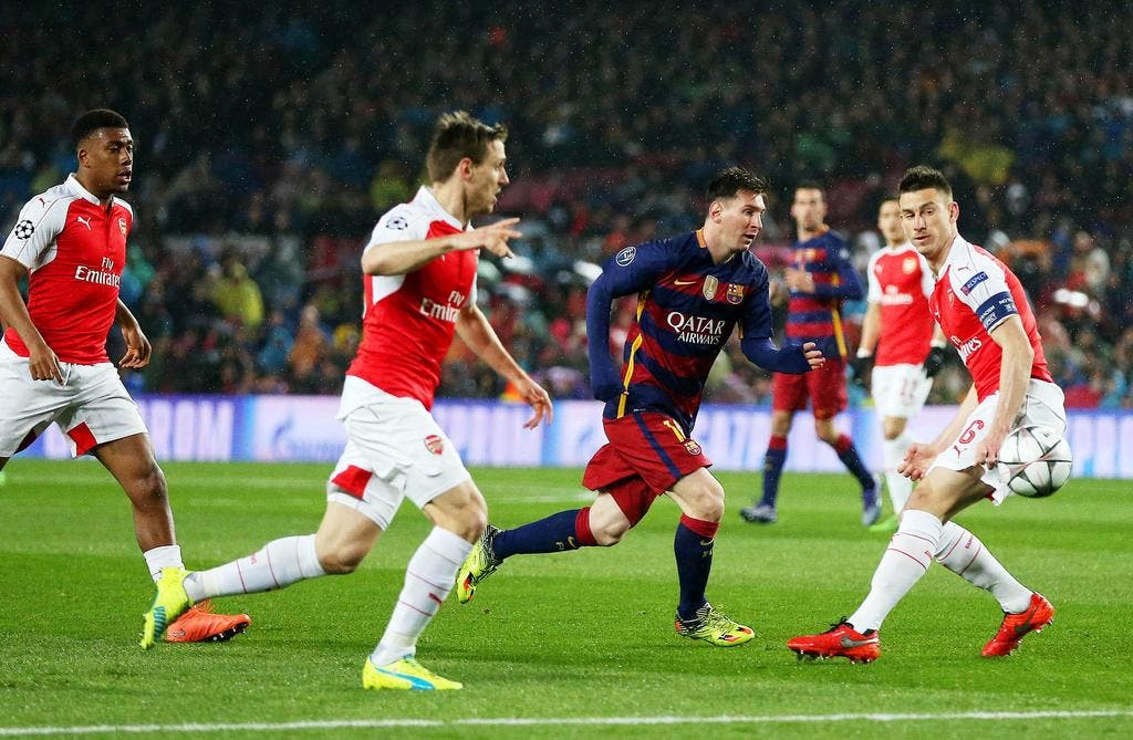 Football ligue des champions fc barcelone arsenal 3 - Calendrier coupe d europe foot ...