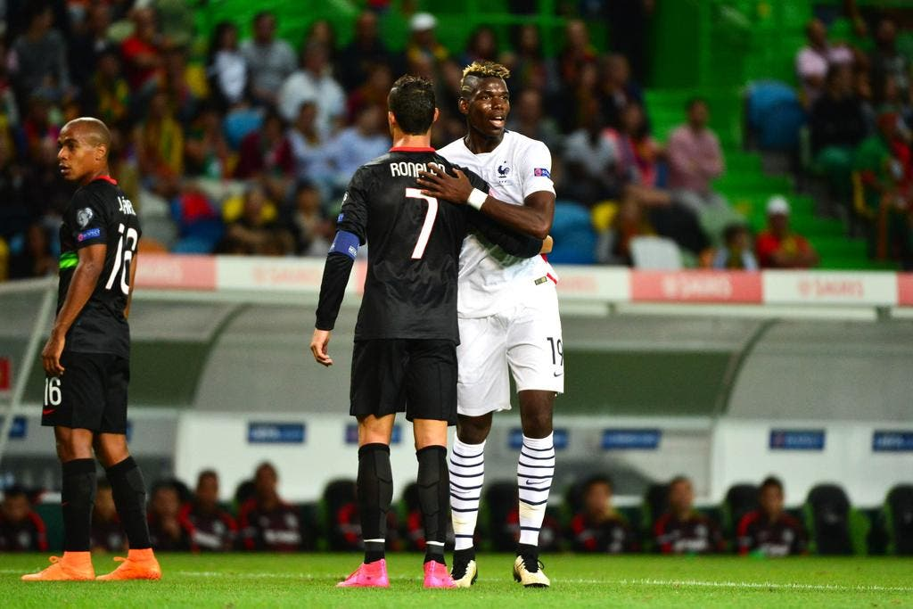 Football Angleterre - Pogba plus fort que Cristiano Ronaldo, une star ...
