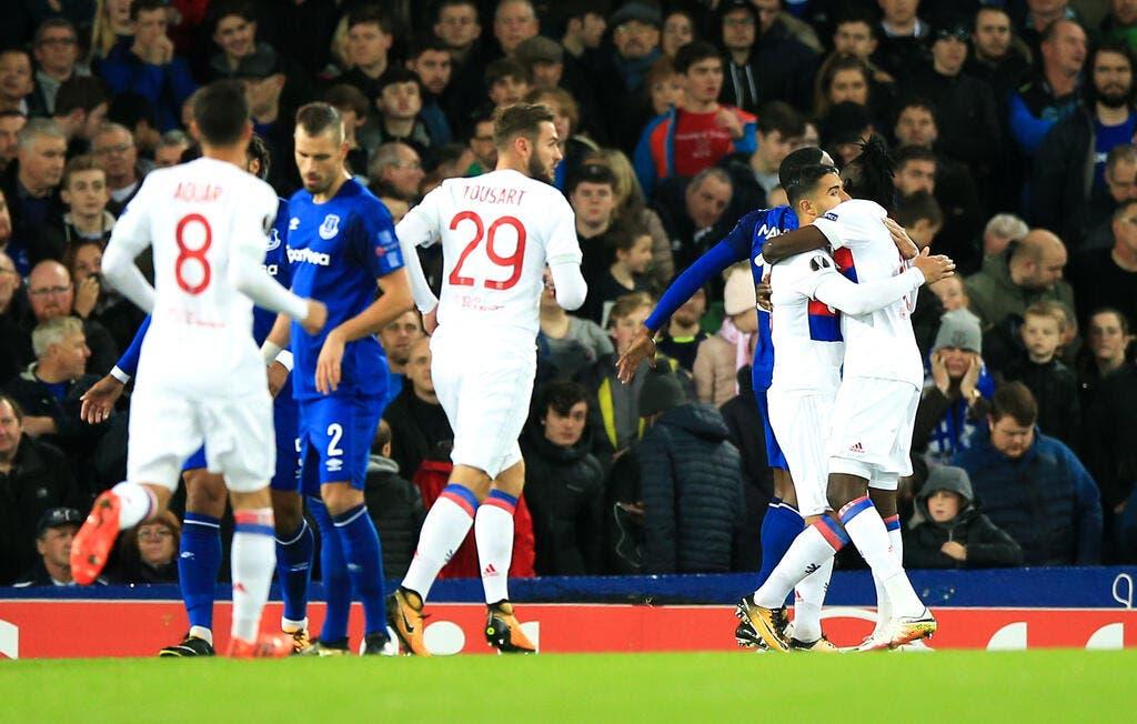 Foot ol el l 39 ol sort un norme match pour prendre les trois points everton europa league - Match coupe d europe foot ...