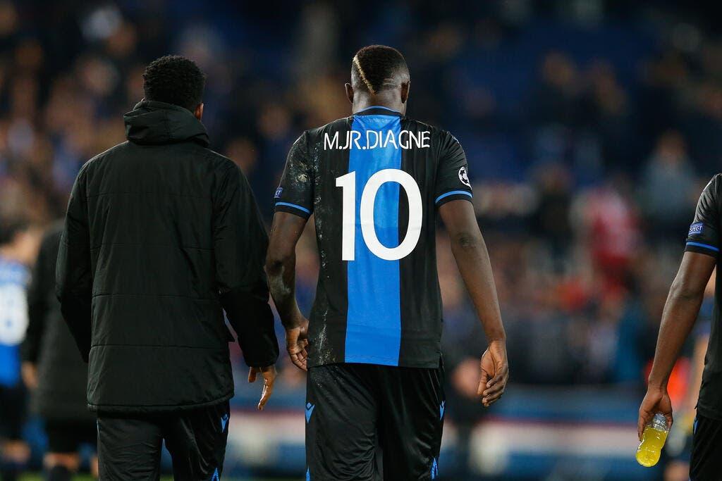 Bruges : Diagne viré du groupe après son pénalty manqué face au PSG