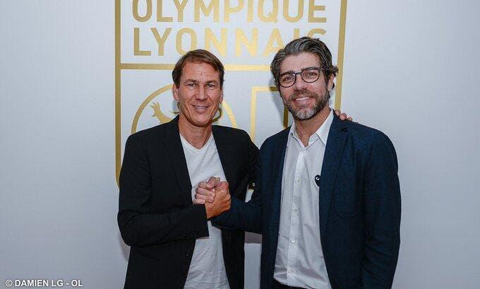 OL : Rudi Garcia entraîneur de Lyon jusqu'en 2021