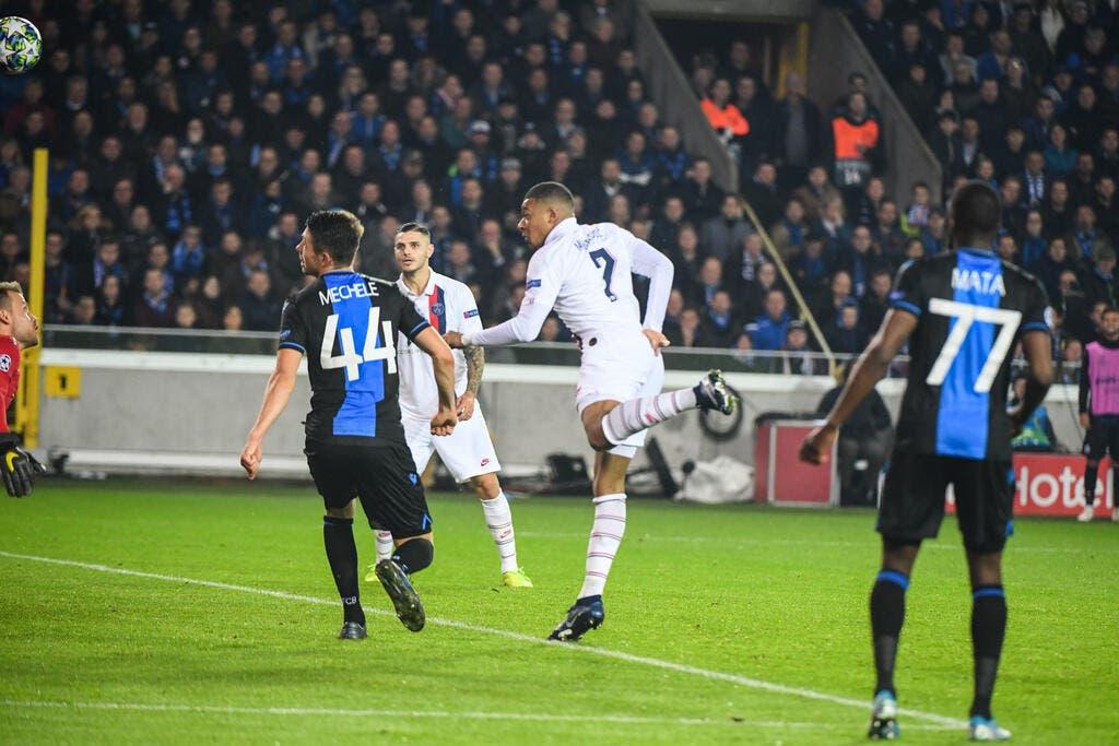 LdC : Le PSG explose Bruges grâce à Mbappé, le meilleur remplaçant du monde