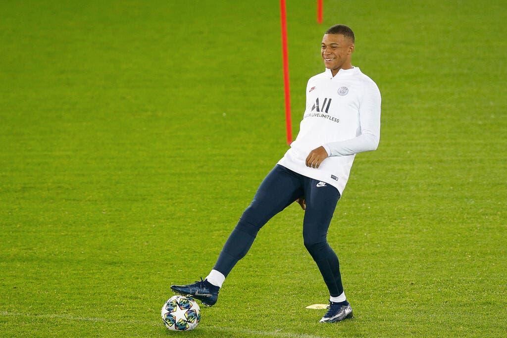 PSG : Kylian Mbappé sans doute préservé à Bruges