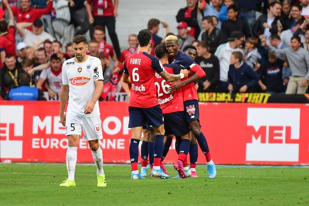 L1 : Osimhen en patron, le LOSC se rassure contre Angers