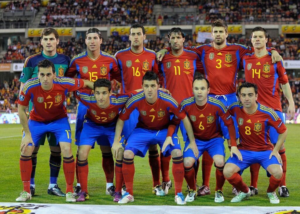 Foot mondial la copa america fait de l 39 oeil l 39 espagne - Logo equipe de foot espagne ...