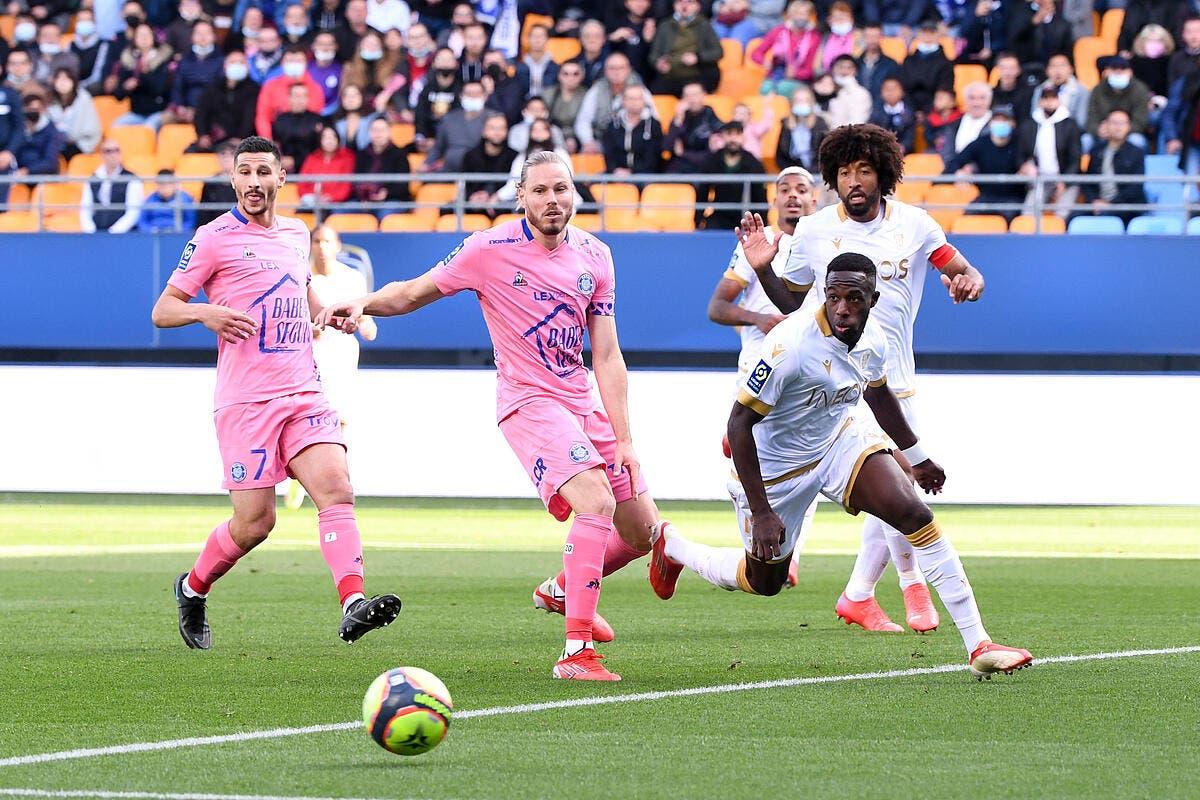 L1 : Troyes met Nice au tapis