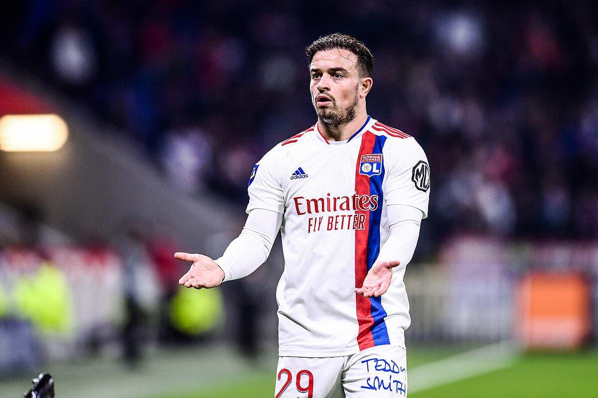 OL : Shaqiri commence à inquiéter Lyon