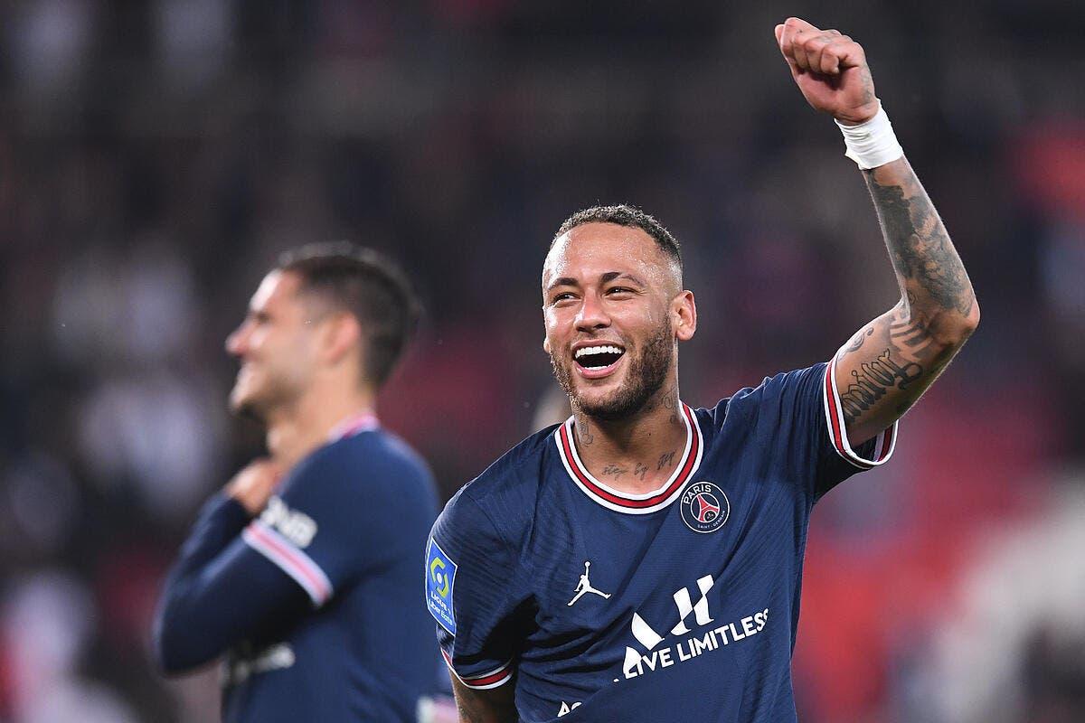 Neymar fait totalement craquer cette actrice française !
