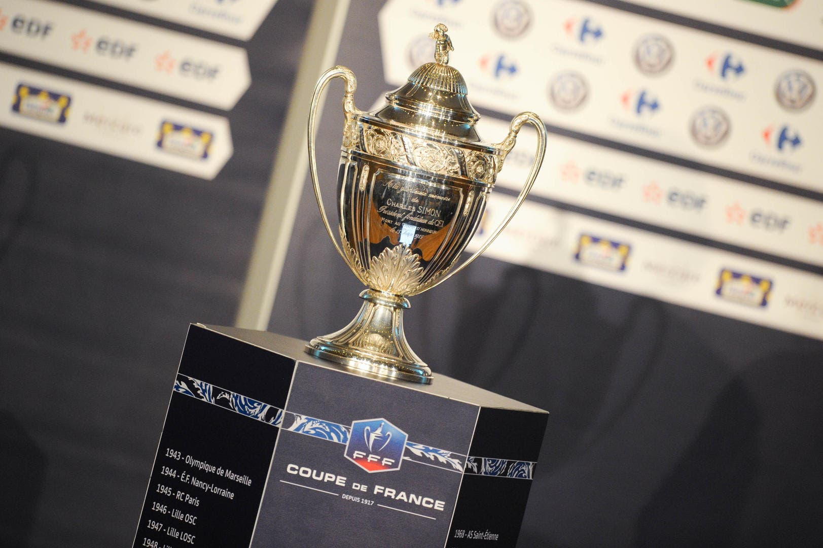 Coupe de france de football cdf r sultats d finitifs - Resultats coupe de france 2015 ...