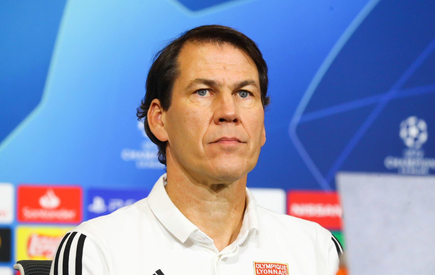 OL : Rudi Garcia ne se sent pas menacé à Lyon