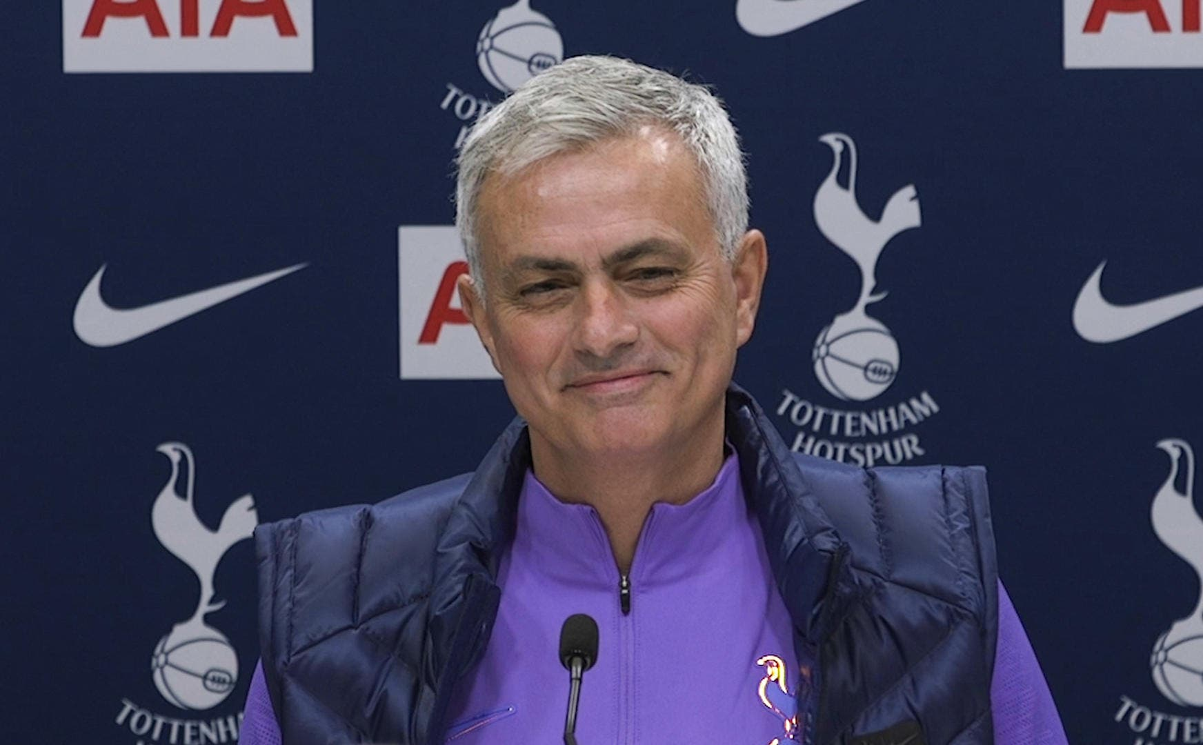 Tottenham : La réponse géniale de José Mourinho d'entrée de jeu