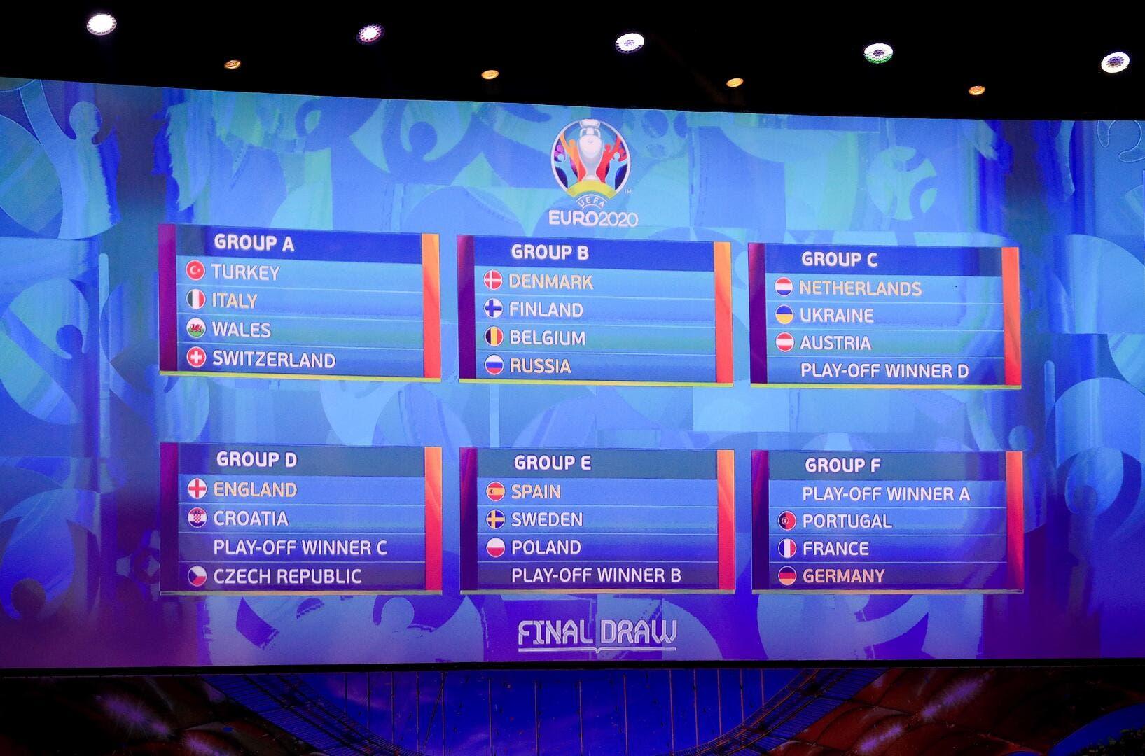 Equipe de france euro 2020 le calendrier de l 39 quipe - Calendrier coupe d europe foot ...