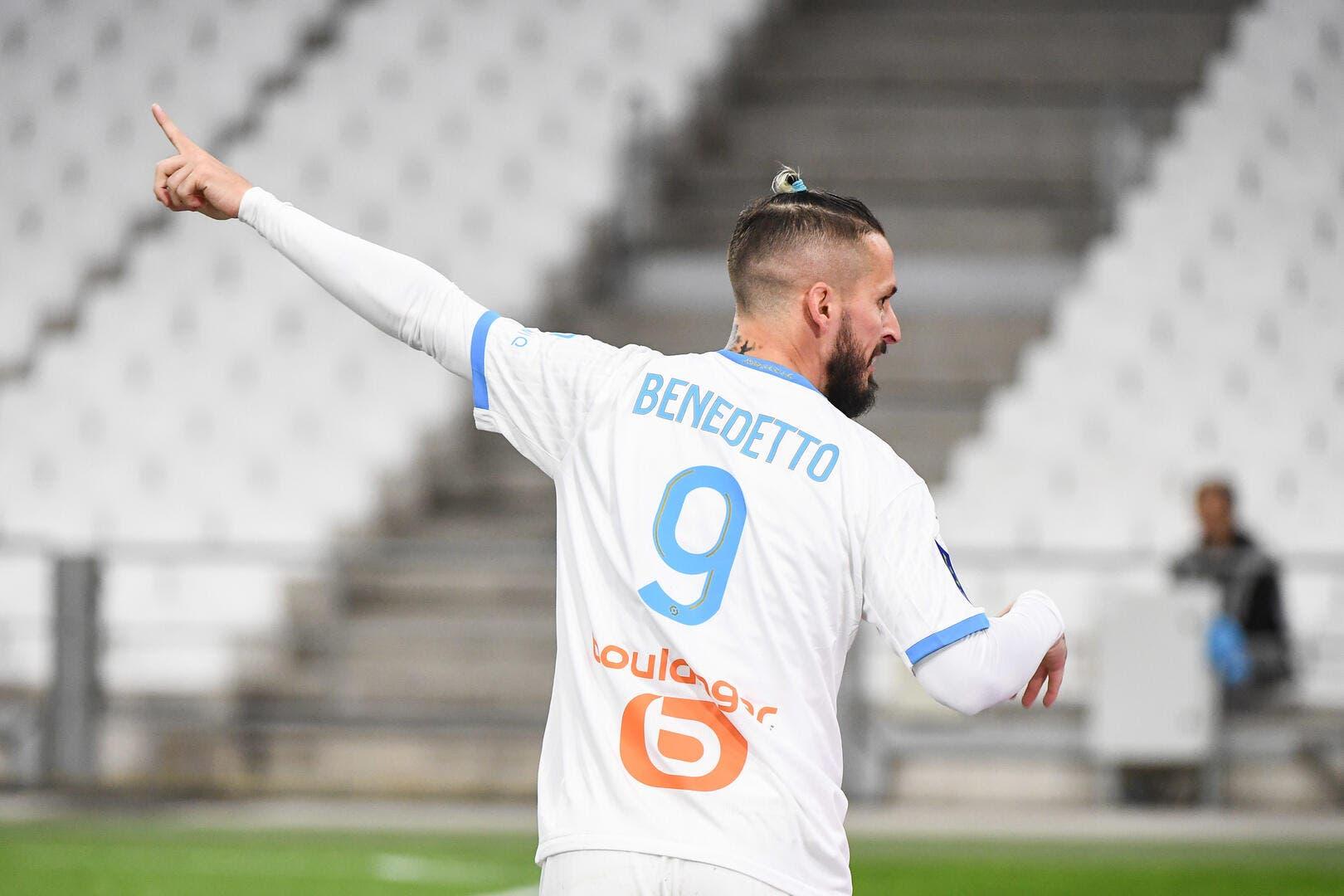 OM : Neuf mois sans but, Benedetto n'a jamais douté