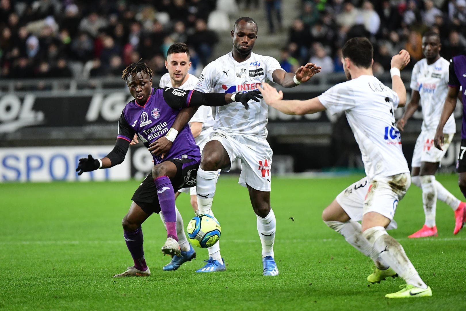 Football Toulouse - Amiens - Toulouse : 0-0 - Foot 01