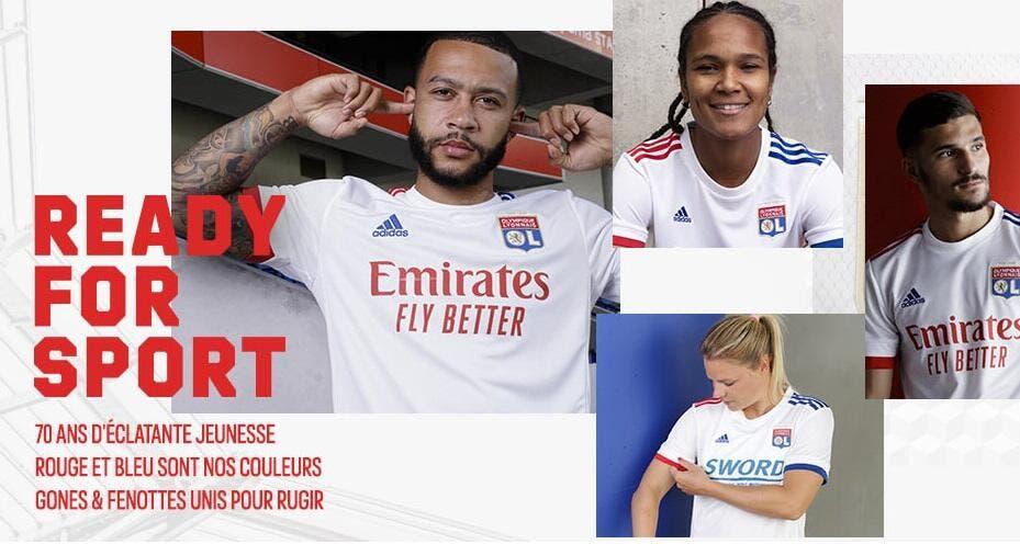 OL : Lyon dévoile ses très sobres nouveaux maillots