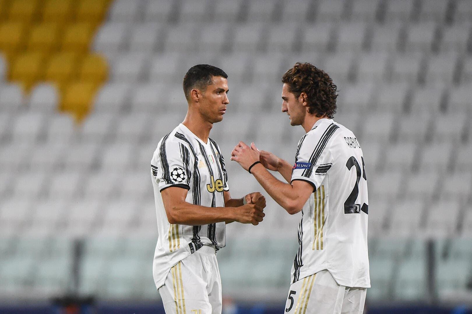 Juve : Cristiano Ronaldo donne la leçon à Adrien Rabiot