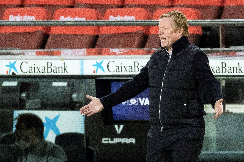 Esp : Koeman en grand danger à Barcelone ?