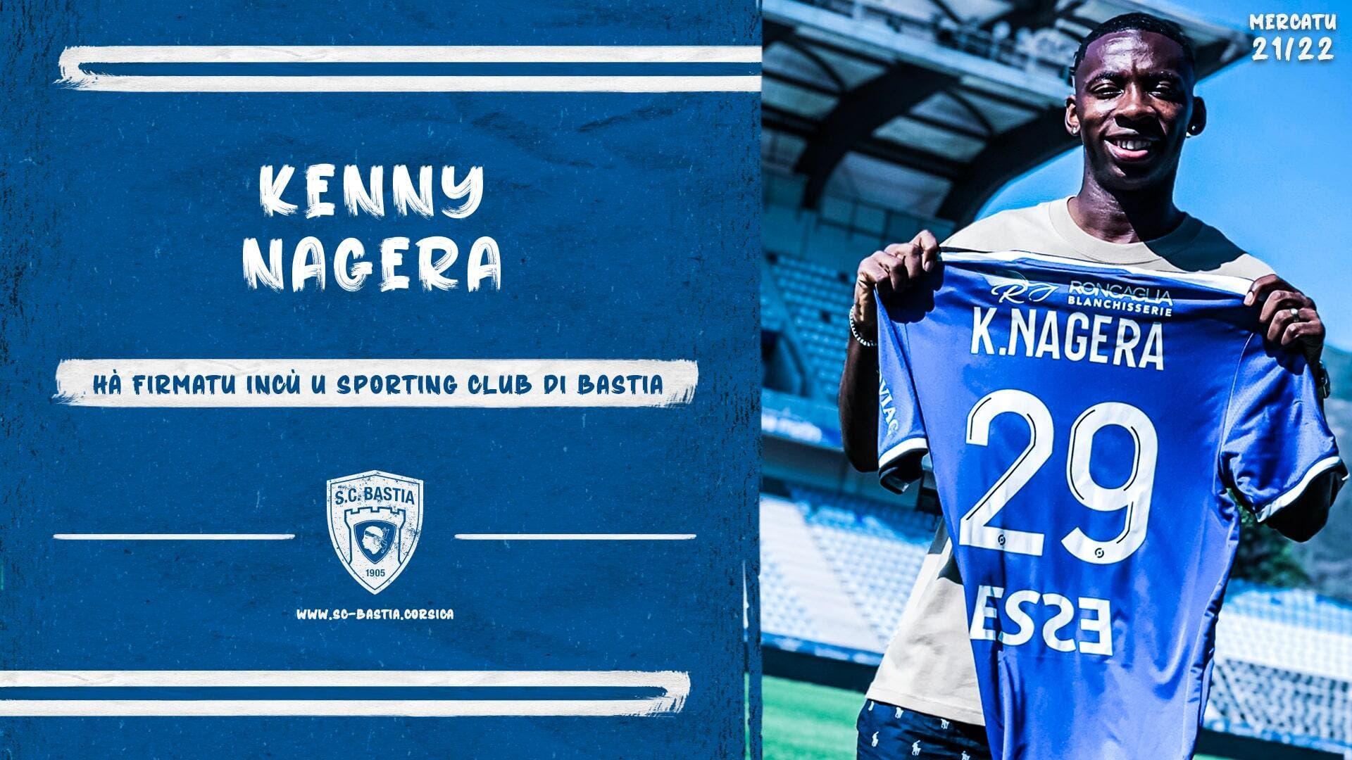 Officiel : Le PSG prête Kenny Nagera à Bastia