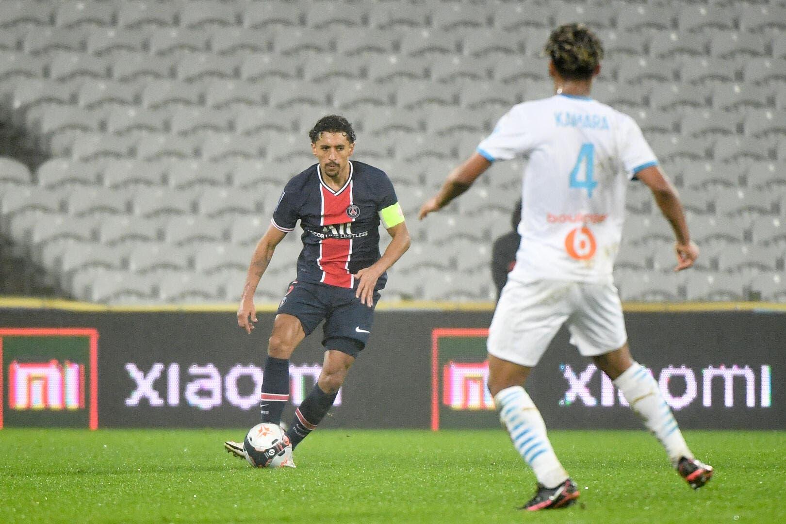 PSG : La fête à l'OM, Marquinhos leur pardonne - Foot01.com