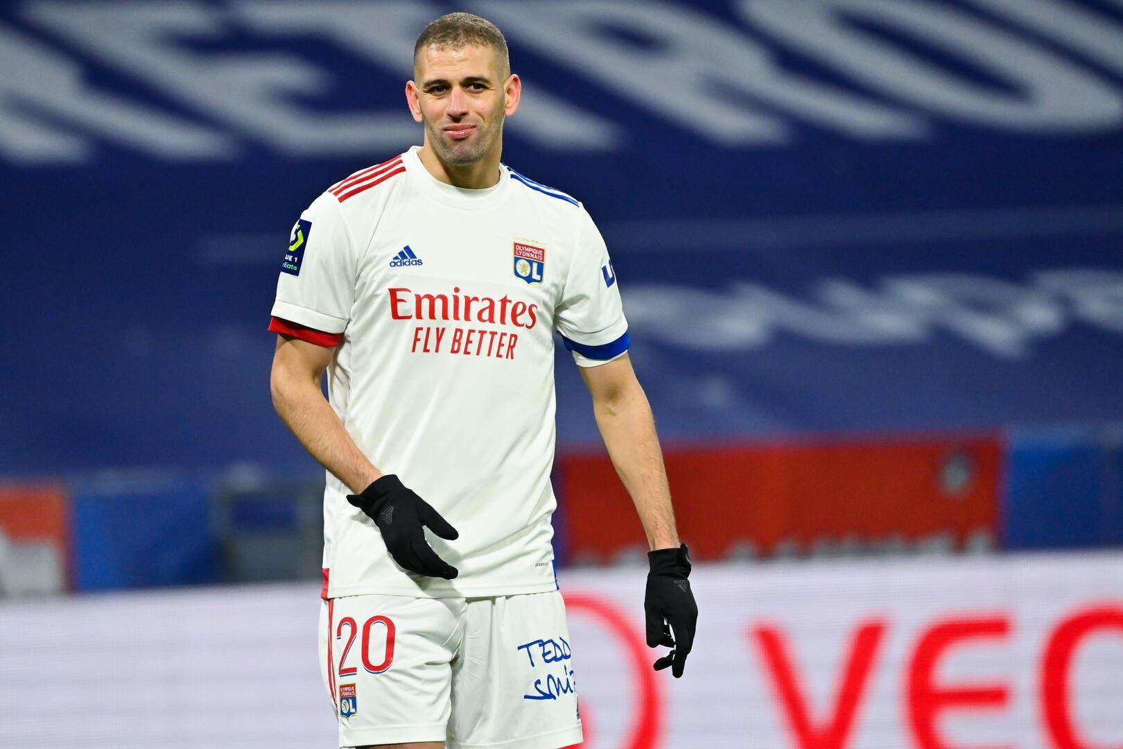 Foot OL - Lyon c'est l'Algérie, Slimani adore - Olympique Lyonnais - Foot 01 - Foot01.com
