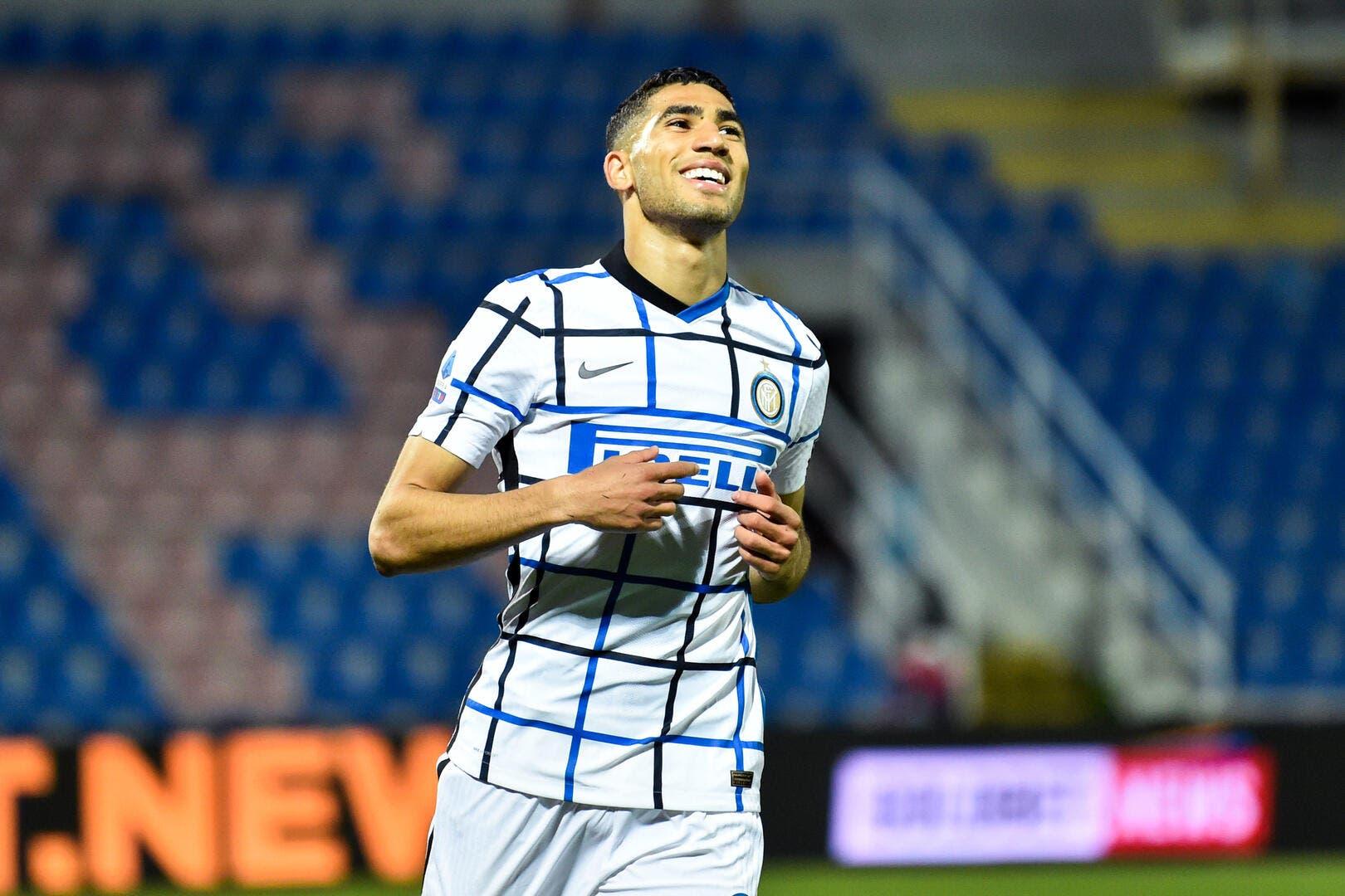 PSG : Accord trouvé avec l'Inter pour Hakimi