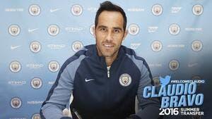 Officiel: Bravo rejoint Manchester City
