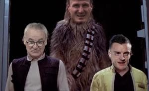 Film : Star Wars version Leicester champion d'Angleterre
