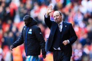 Benitez s'engage trois ans à Newcastle malgré la descente