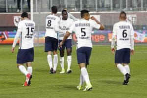 PSG : Le groupe parisien face à Monaco
