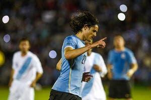 PSG: Cavani adore jouer sur un côté... en Uruguay