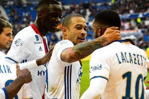 L1 : Lyon se met en pétard et explose Metz