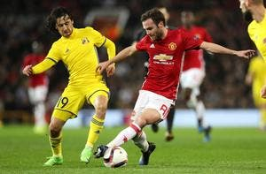 EL, Manchester United - Rostov : 1-0