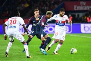 PSG-OL: Lyon se demande pourquoi Neymar n'a pas été expulsé