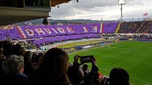 Serie A : Poignants hommages à Davide Astori à la Fiorentina