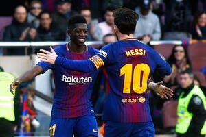 Esp : Le phénomène Dembélé fait enfin l'unanimité au Barça !