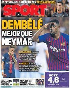 PSG: L'Espagne abuse et trolle Neymar grâce à Dembélé