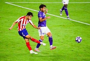 Esp: Simeone calme direct le nouveau Cristiano Ronaldo de l'Atlético