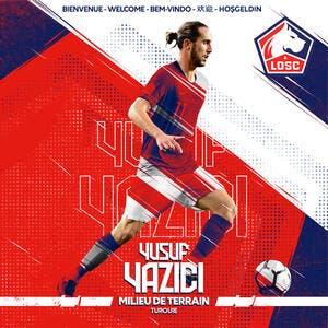 Officiel : Yusuf Yazici signe à Lille jusqu'en 2024