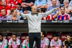 Esp : Le Real Madrid en alerte, Zidane fait des choix radicaux !