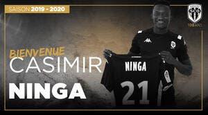 Officiel : Ninga quitte Caen et signe à Angers