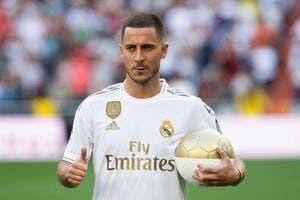 Esp : Le Real Madrid perd Hazard pour plusieurs semaines !