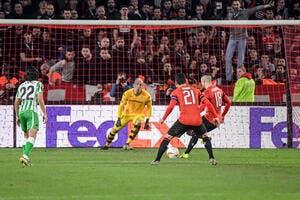 EL : Rattrapé par le Betis, Rennes peut s'en mordre les doigts