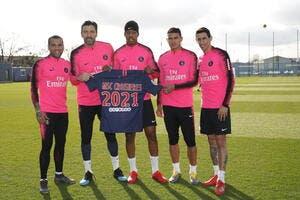 PSG : Et hop, un sponsor à 2ME en plus au Paris Saint-Germain !