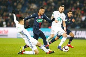CdF : Le PSG se qualifie, mais tremble pour Neymar !