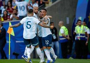 Copa América : L'Argentine rejoint le Brésil en demi-finales !