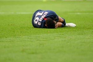 PSG : Neymar blessé, c'est la faute à pas de chance
